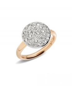リング サッビア ダイヤモンド